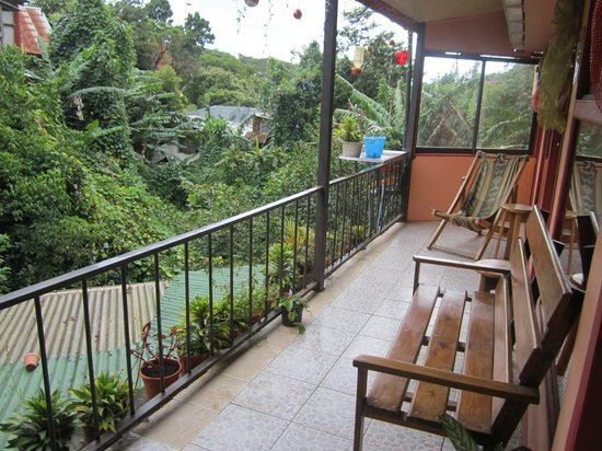 Cabinas El Pueblo Bed & Breakfast: View from Upstairs Rooms