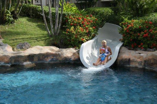 Pan Pacific Nirwana Bali Resort: Super Slides!