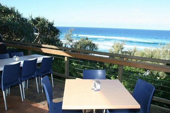 Surf Club Restaurant : view from deck