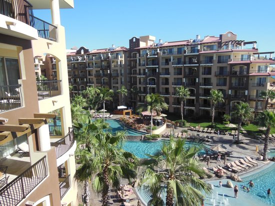 Villa del Arco Beach Resort & Spa: again view from 5th floor hall balcony