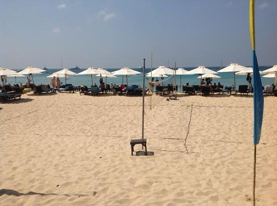 Bimi Beach Club: the beach