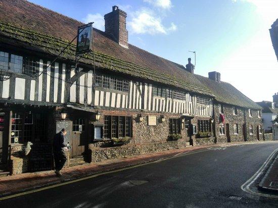 The George Inn, Alfriston, East Sussex, UK.
