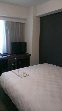 Daiwa Roynet hotel Tokyo Akabane : シングルルーム。テレビ周りです