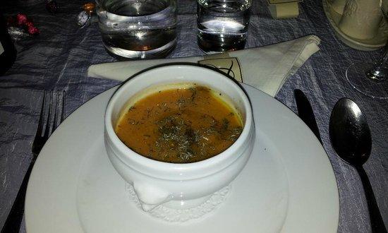 Hôtel Restaurant La Ferme : dinner