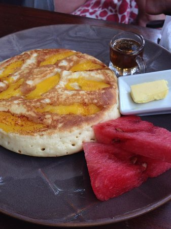 Lazy Dog Bed & Breakfast: MANGO PANCAKE - A MUST TRY