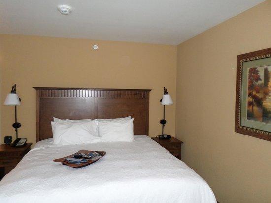 Hampton Inn & Suites Fairbanks: comfortable beds