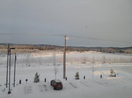Hampton Inn & Suites Fairbanks: view of the field