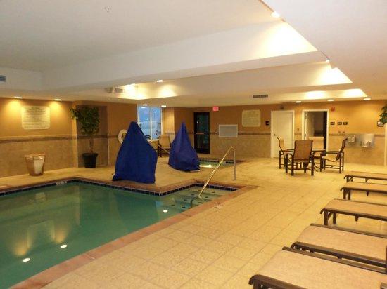 Hampton Inn & Suites Fairbanks: pool area