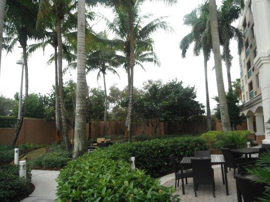 Courtyard Fort Lauderdale Weston: Porche