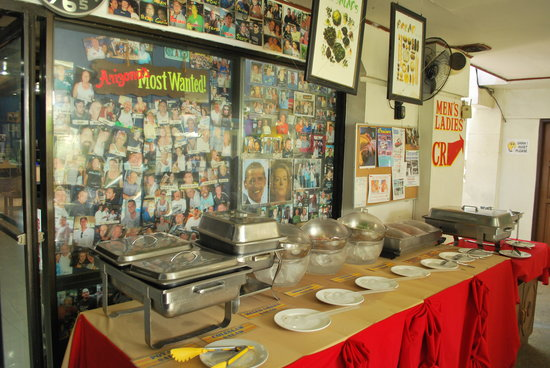 Arizona International Resort: Salad Buffet
