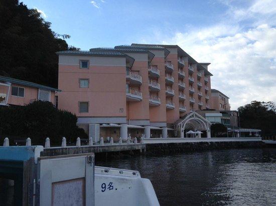 Awashima Hotel: 外観