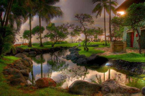 Pan Pacific Nirwana Bali Resort: The resort's huge vicinity (in HDR format)