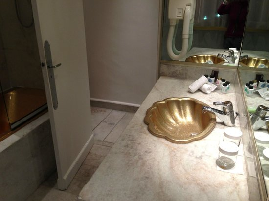 Hotel Negresco: gold sink