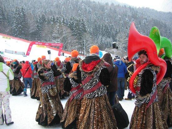 Garmisch-Classic: Swissチーム応援団