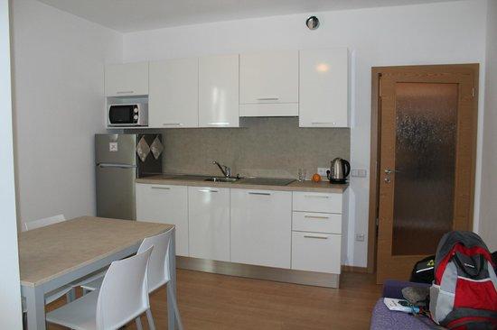 Residence Invalidovna: Кухонный уголок в гостиной