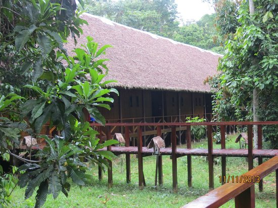 Refugio Amazonas: One of the accommodation wings...