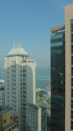 Ibis Hong Kong Central & Sheung Wan Hotel : Belle vue du 27ème étage