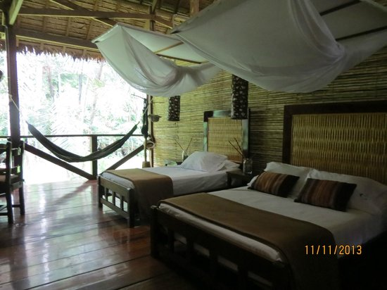Refugio Amazonas: Our room...