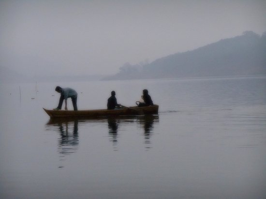 Boating in Umiam Lake