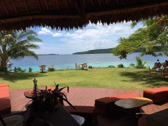 The Havannah, Vanuatu: View from restraurant