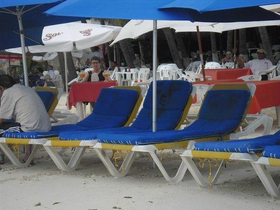 Hotel Las Brisas del Pacifico: lekker op het strand