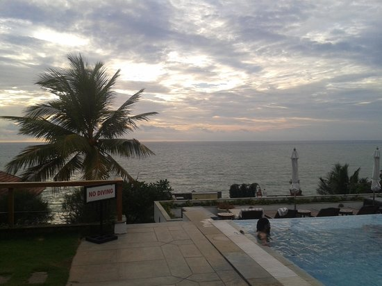 The Leela Kovalam Beach: View from Pool Side