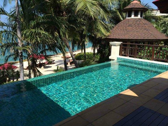 อินเตอร์คอนติเนนตัล พัทยา รีสอร์ท: Private pool at the beachfront villa