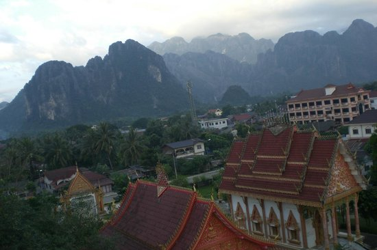 Balloons Over Vang Vieng : Views