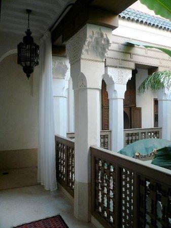Dar Akal : Aussicht in den Innenhof