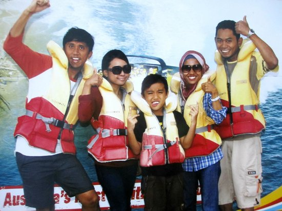 Paradise Jet Boating: The 5 stooges