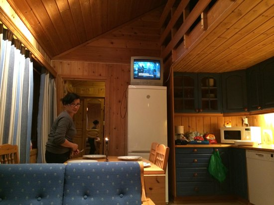 Kvitfjell Hotel: The living room