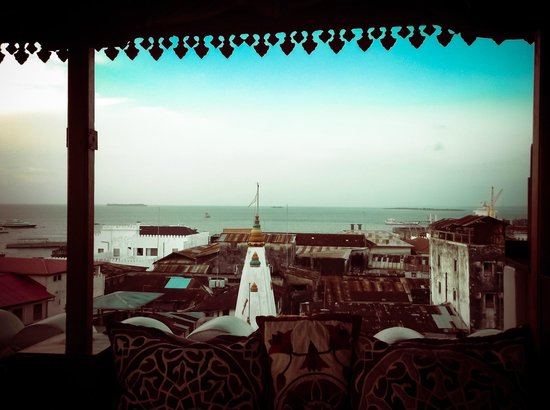Tower Top Restaurant : View out to sea