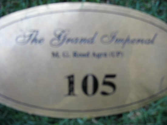 The Grand Imperial, Agra : notre chambre