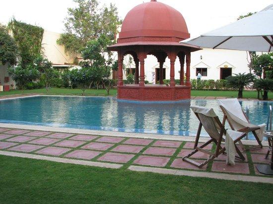 The Grand Imperial, Agra : la piscine du Grand Imperial