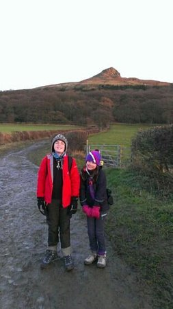 Roseberry Topping: from the carpark