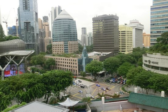 Singapore Marriott Tang Plaza Hotel: Singapore Orchard view