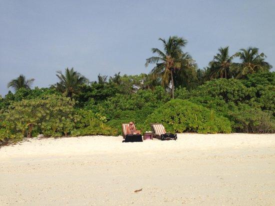 Makunudu Island : emplacement bungalow 18
