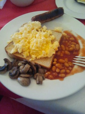 Eyre Guest House: Colazione