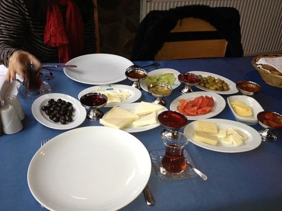 Breakfast at Gebora...