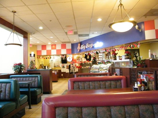 Bob's Big Boy: interior