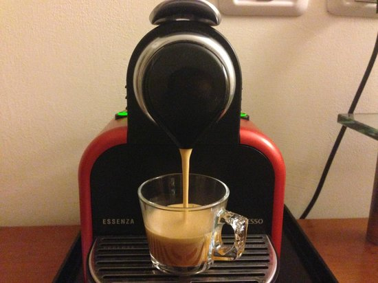 Mercure Tel-Aviv City Center : Nespresso with 3 pods