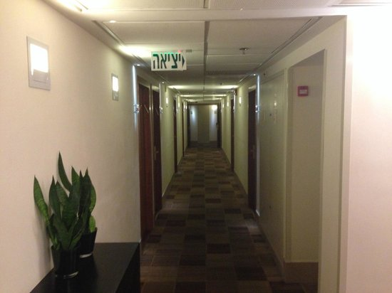 Mercure Tel-Aviv City Center: Corridor