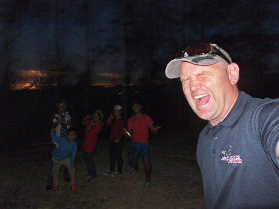 Southern Cross 4WD Tours: Darran the orang gila