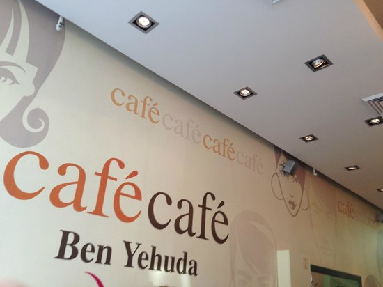 Mercure Tel-Aviv City Center: Cafe Cafe