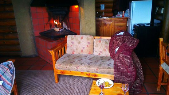 Golden Gate Highlands National Park Highlands Mountain Retreat : Fireplace