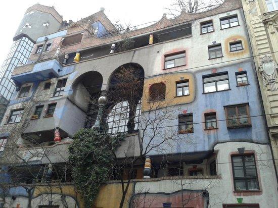 Kunsthaus Wien : Una facciata