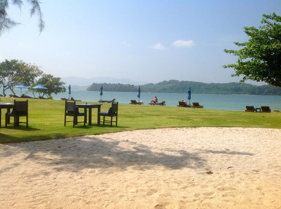 The Naka Island, A Luxury Collection Resort & Spa Phuket: Lunch time view from Tonsai Restaurant