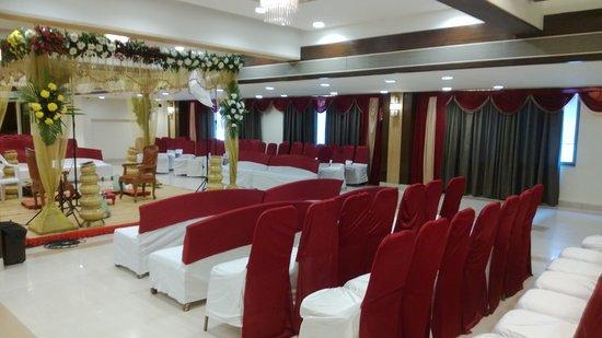 Hotel Platinum Residency: Banquet setup