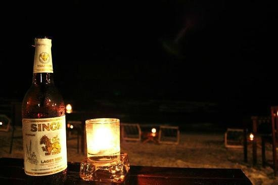 Pilot Bar: Cenetta on the beach!