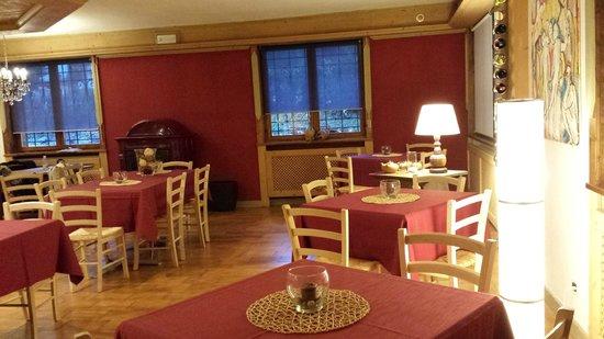 Residence Pralongo: la sala ristorante